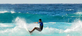 Surfing in Ikaria