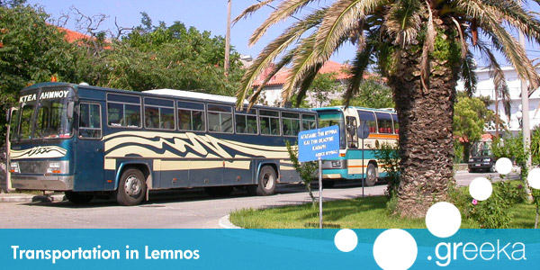 Lemnos transportation