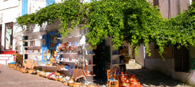Traditional shop in Agiassos