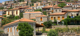 Stone houses in Molyvos