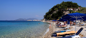 Pebbled beach of Lemonakia