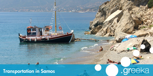 Samos transportation