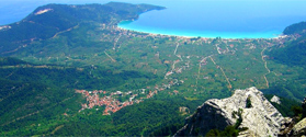 Hiking trails in Thassos