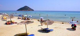 Paradise beach in Thassos