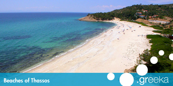 Best 33 Beaches in Thassos island Greekacom