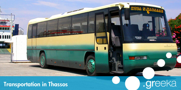 Thassos transportation