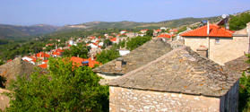 Picturesque village of Theologos