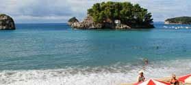 Discover Parga beaches