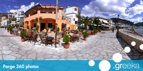 360 picture of Parga, Greece