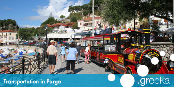 Parga transportation