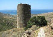 Hellenistic Tower of Agios Petros in Gavrio, Andros
