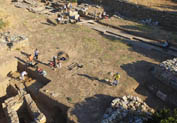 Ancient town of Paleopolis in Paleopolis, Andros