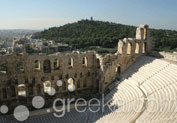 Theatre of Herodes Atticus in Acropolis, Athens