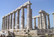 Temple of Poseidon in Cape Sounion, Athens