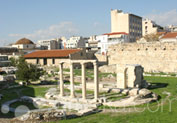 Library Of Hadrian in Monastiraki, Athens