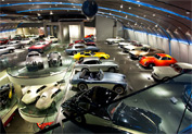 Hellenic Motor Museum in Patission Ave, Athens