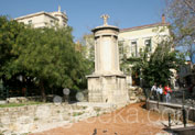 Monument of Lysicrates in Plaka, Athens