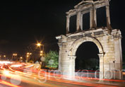 Arch Of Hadrian in Syntagma, Athens