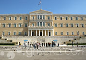Greek Parliament in Syntagma, Athens