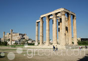 Temple of Olympian Zeus in Syntagma, Athens