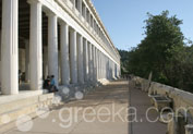 Ancient Agora in Thissio, Athens