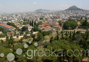 Pnyx Hill in Thissio, Athens
