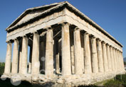 Temple of Hephaestus in Thissio, Athens