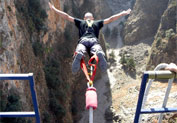 Bungee Jumping in Anopolis, Chania