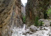 Samaria Gorge in Omalos, Chania