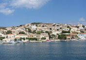 Oinousses Island in Town, Chios