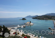 Kanoni and Mouse Island in Town, Corfu