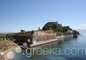 Old Fortress in Town, Corfu