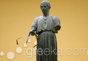 The Charioteer in Ancient Site, Delphi