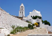 Church of Panagia in Chora, Folegandros
