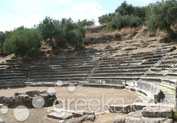 Ancient Theatre in Town, Gythio