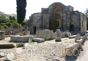 Gortyn Ancient Site in Kasteli, Heraklion