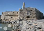 Koules Fortress in Town, Heraklion