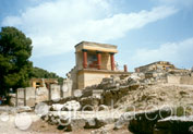 Minoan Palace of Knossos in Town, Heraklion