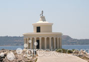 Lighthouse of Saint Theodoroi in Argostoli, Kefalonia