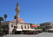Ottoman Mosques in Town, Kos