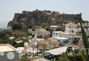 Castle of Chora in Chora, Kythira