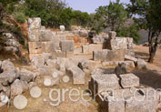 Minoan Site of Lato in Kritsa, Lassithi