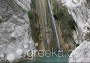 Waterfalls of Nydri