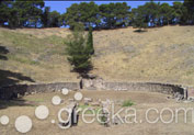 Ancient Theatre in Mytilene, Lesvos