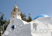 Catholic Church in Town, Mykonos
