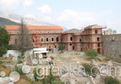 Palace of Despots in Ancient Site, Mystras