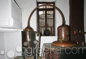 Vallindras Distillery in Halki, Naxos