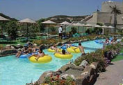 Waterpark in Faliraki Beach, Rhodes