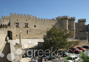 Palace of Grand Master in Town, Rhodes