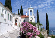 Monastery of Panagia Spiliani in Samos island - Greeka.com